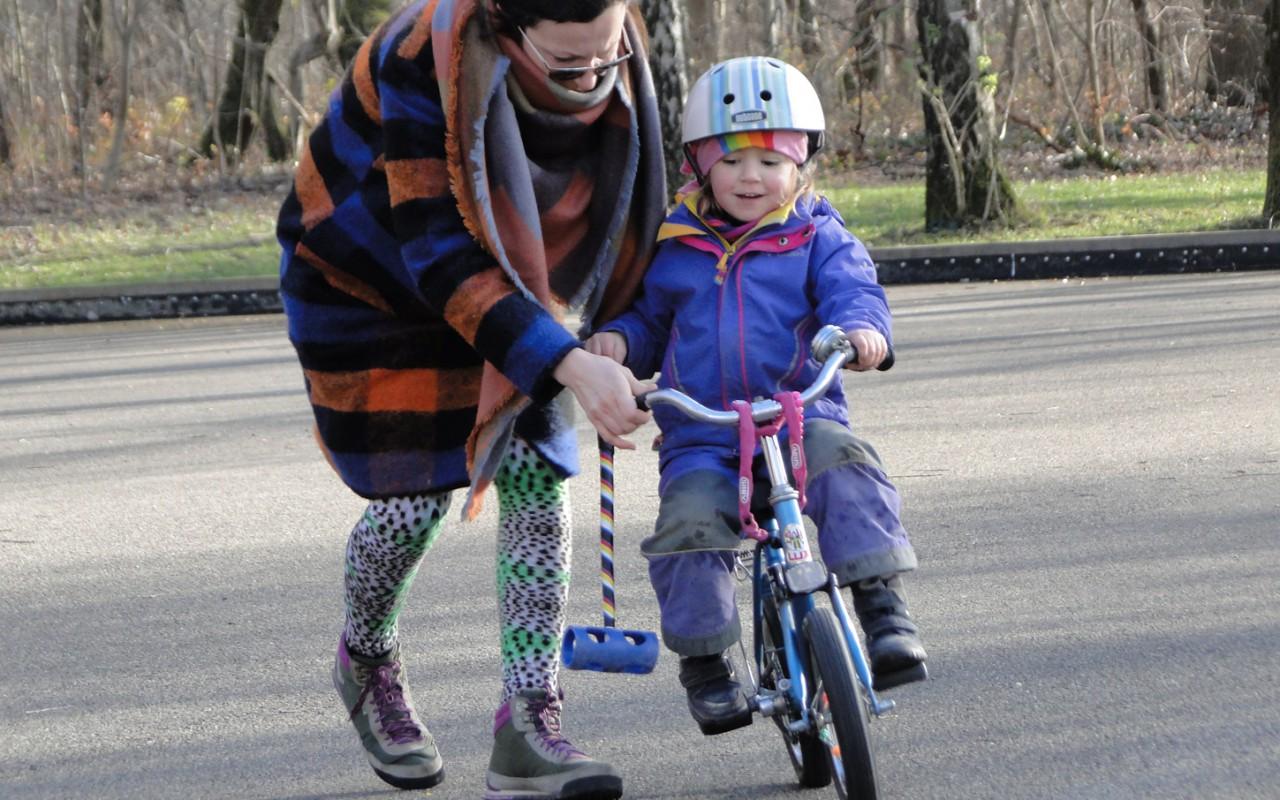 Bikepolo München Training