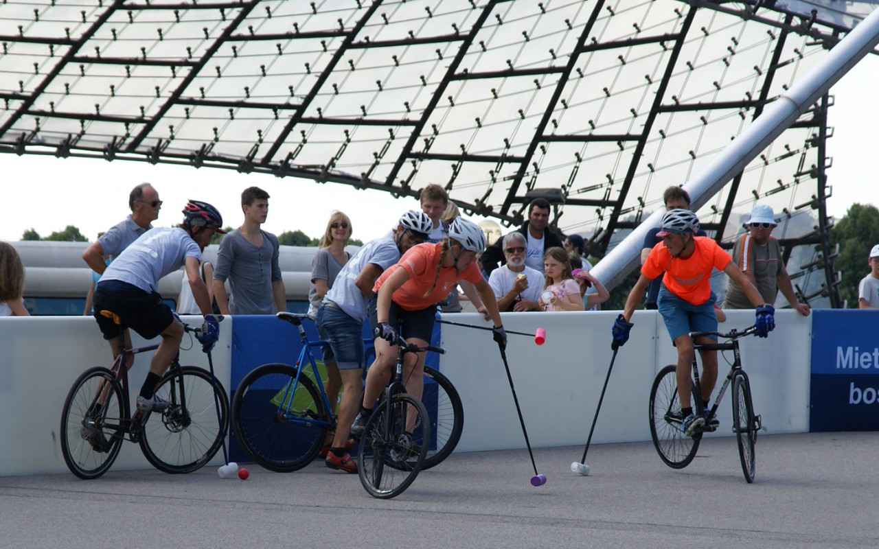 Bikepolo München Über Bikepolo